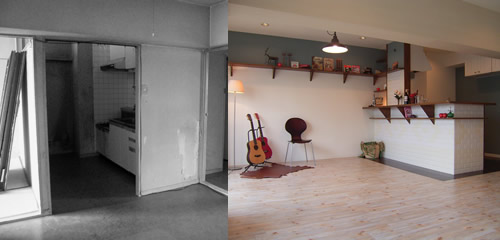 RENOVATION before&after by MAISON de DESSIN